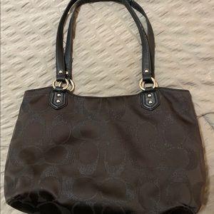 Coach Bags - COACH Madison Bag Black on Black